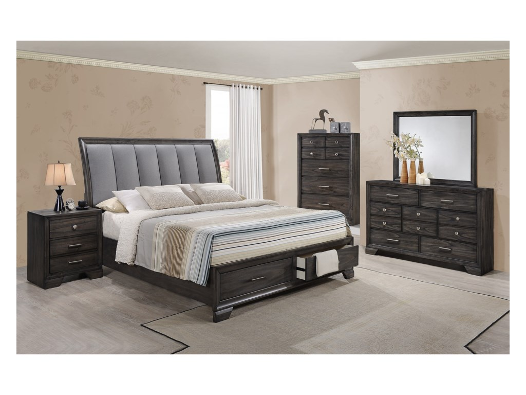 Crown Mark JaymesQueen Bedroom Group