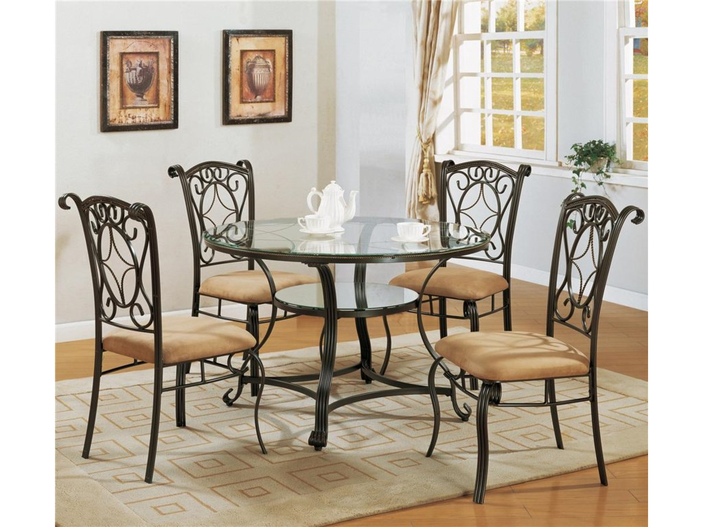Glass Dinette Table Sets