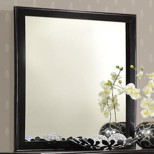 CM Jocelyn Tall Framed Dresser Top Mirror