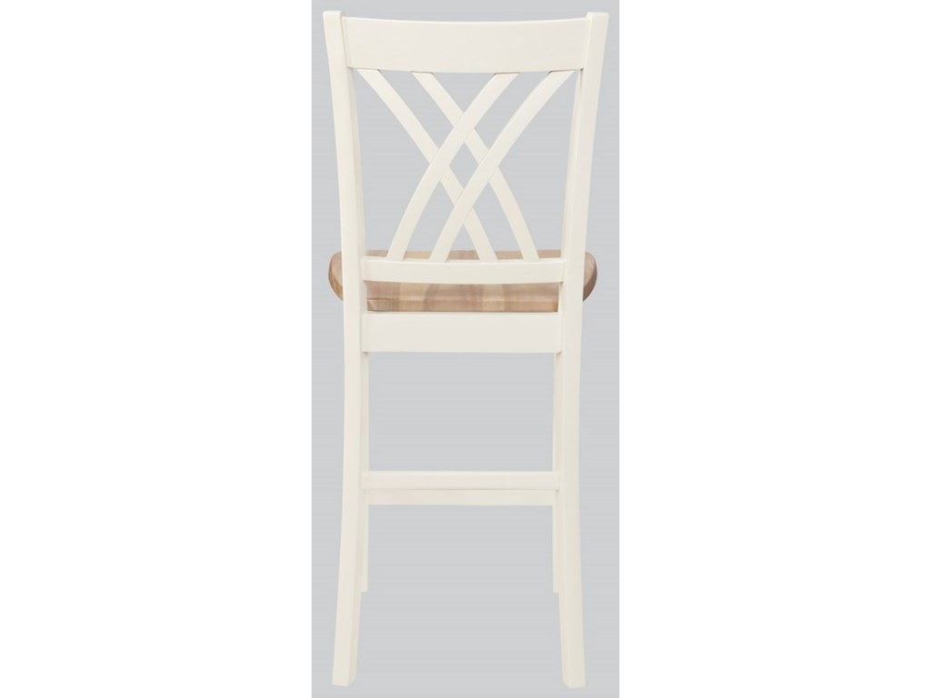 Crown Mark Josie5 Pc Counter Height Table and Chair Set