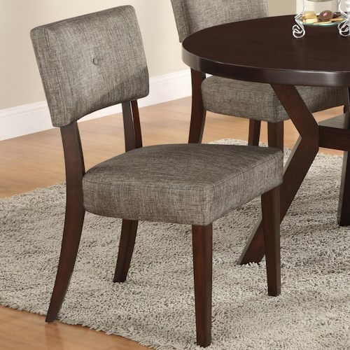 Crown Mark Kayla Upholstered Side Chair