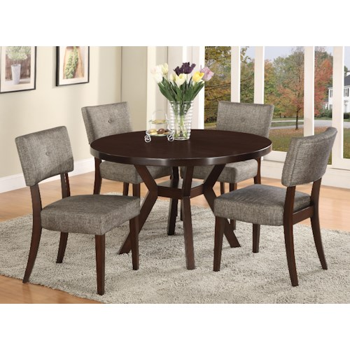 CM Kayla 5 Piece Dining Table and Chair Set