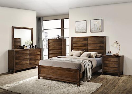 Crown Mark Kelton Queen Bedroom Group