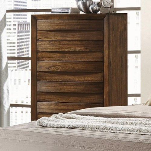 Crown Mark Kelton Contemporary Chest of Drawers