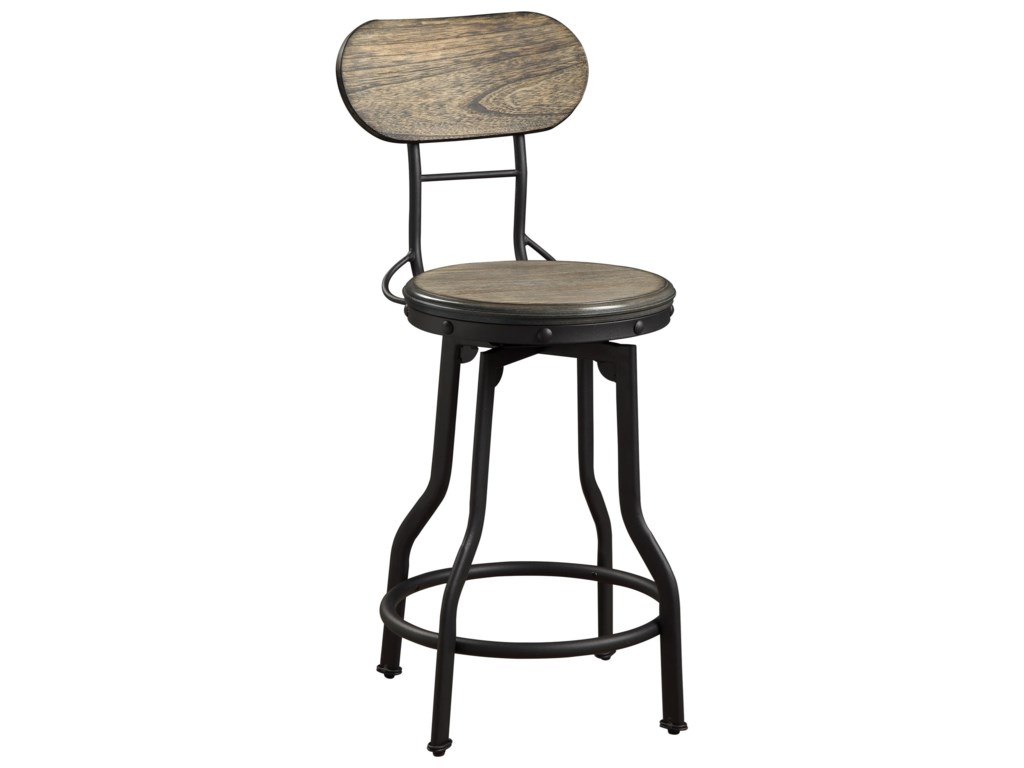 Crown Mark KennethSwivel Counter Height Stool