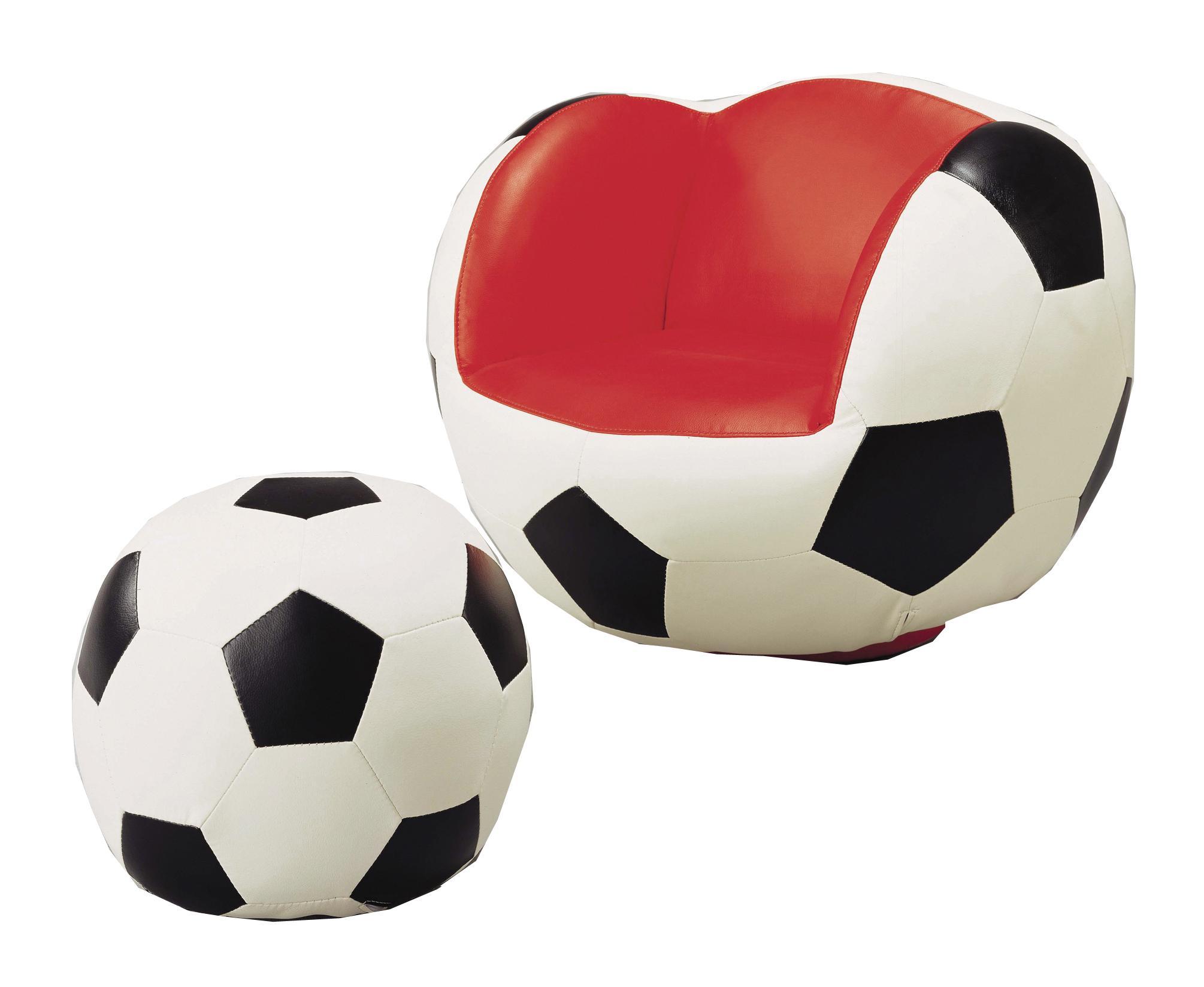 Belfort Essentials Kids Sport Chairs Soccer Swivel Chair U0026 Ottoman