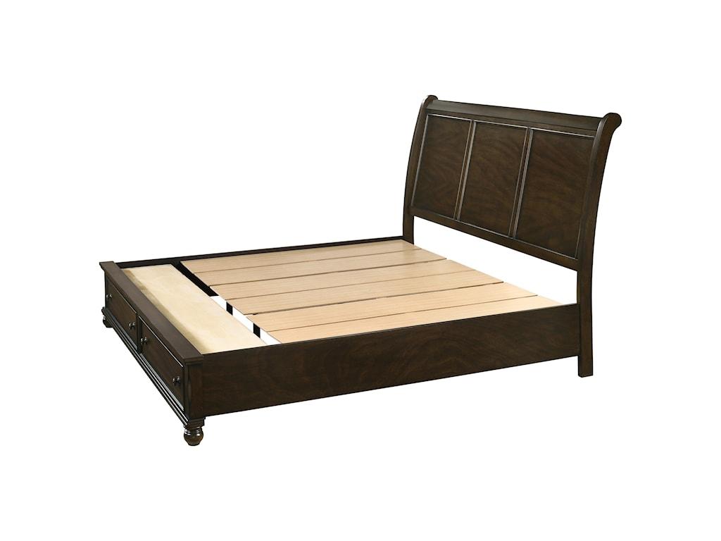 Royal Fair LaraQueen Storage Bed