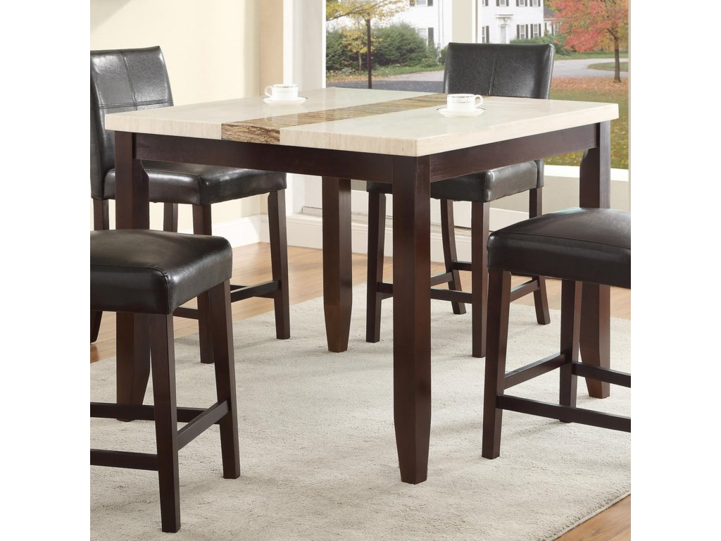 Crown Mark LarissaCounter Height Table