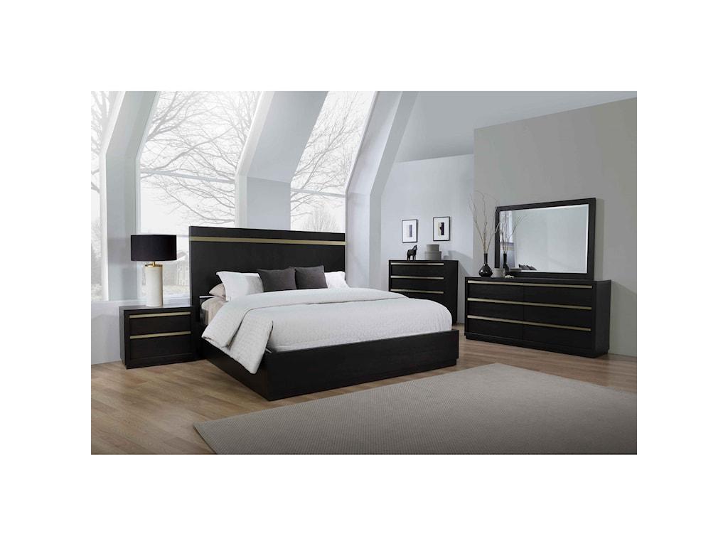 Crown Mark LastraB8220 5-PC Queen Bedroom Group