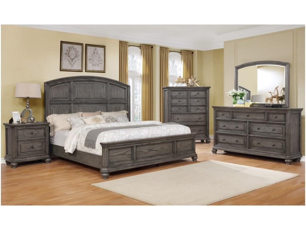 Lavonia King Panel Bed Package