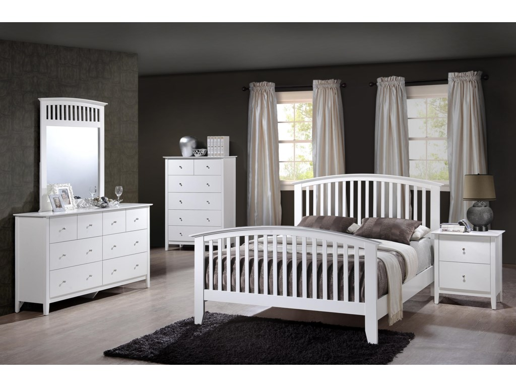 Crown Mark Lawson Queen Bedroom Group | Dunk & Bright Furniture ...