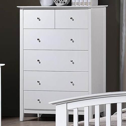 Crown Mark Lawson Chest of Drawers