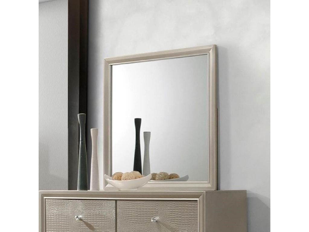 Crown Mark LyssaDresser Mirror