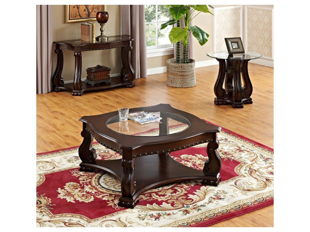 Shown with Coordinating End Table and Coffee Table
