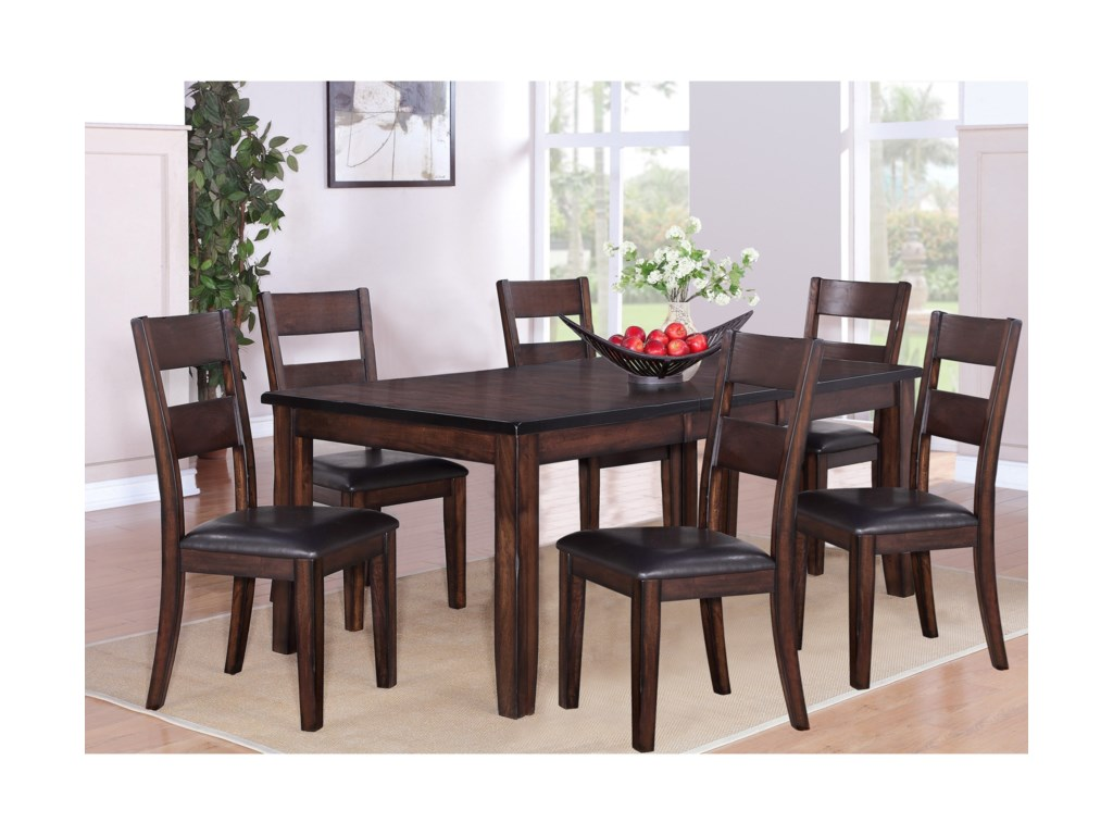 (Up to 50% OFF sale price) Collection # 1 Maldives7 Piece Dining Set
