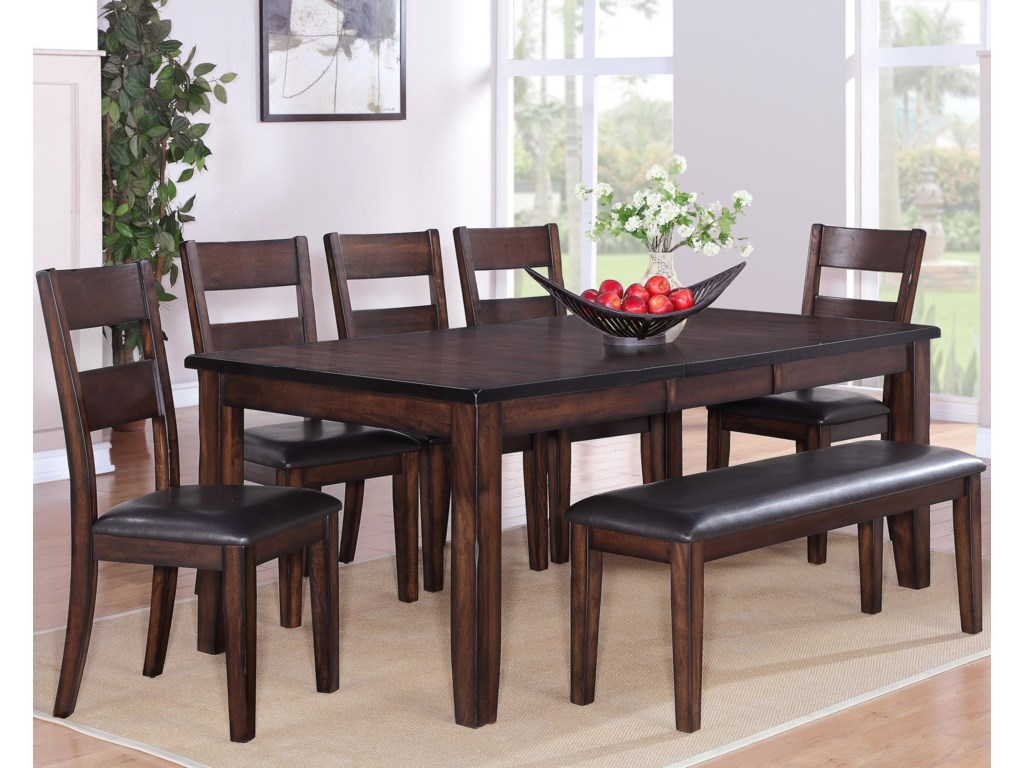 Shown with Stools & Bench