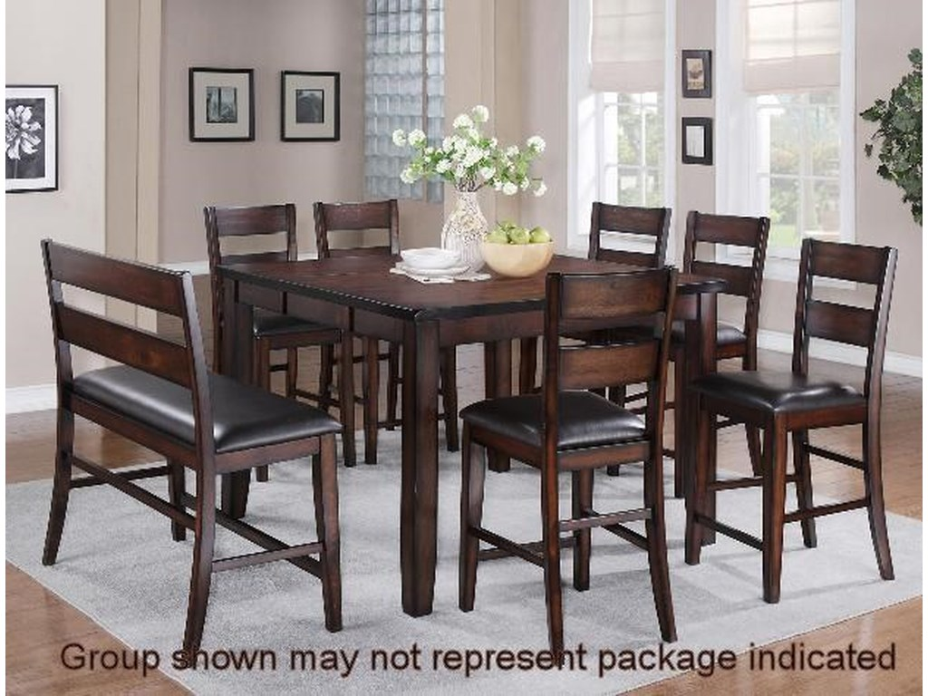 Crown Mark Maldives5-Piece Dining Set