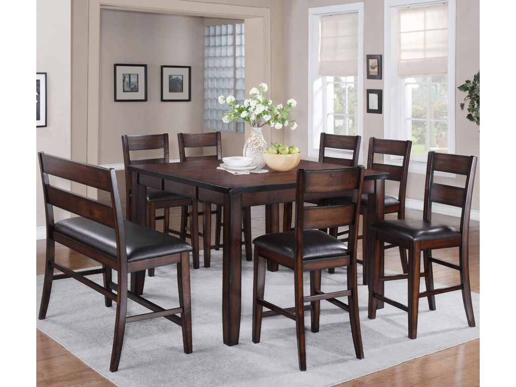Shown with Counter Chair & Bench
