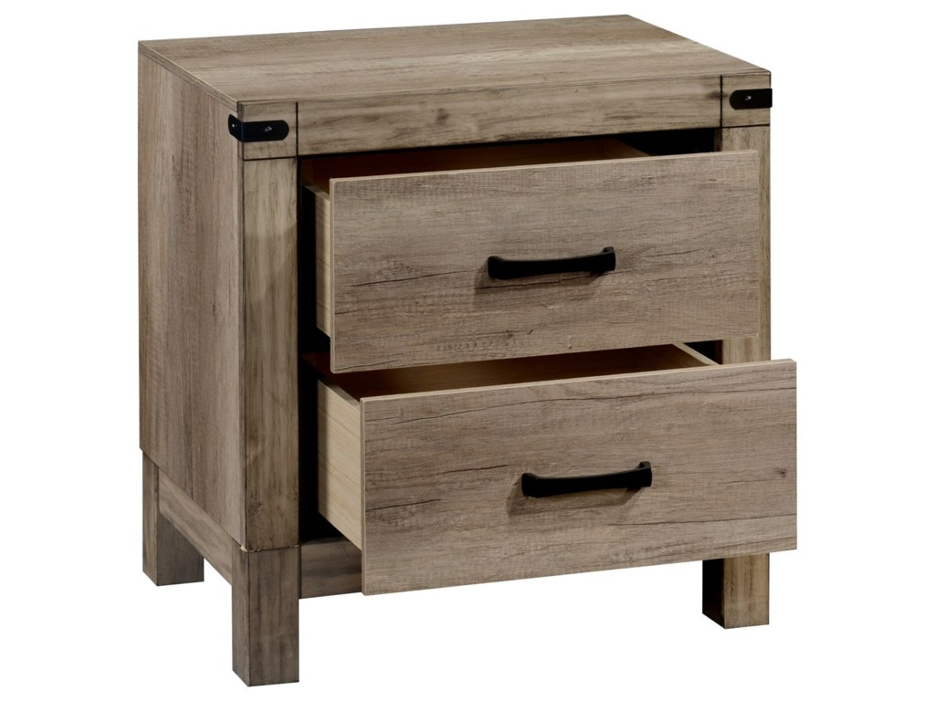 Crown Mark MatteoTall Night Stand