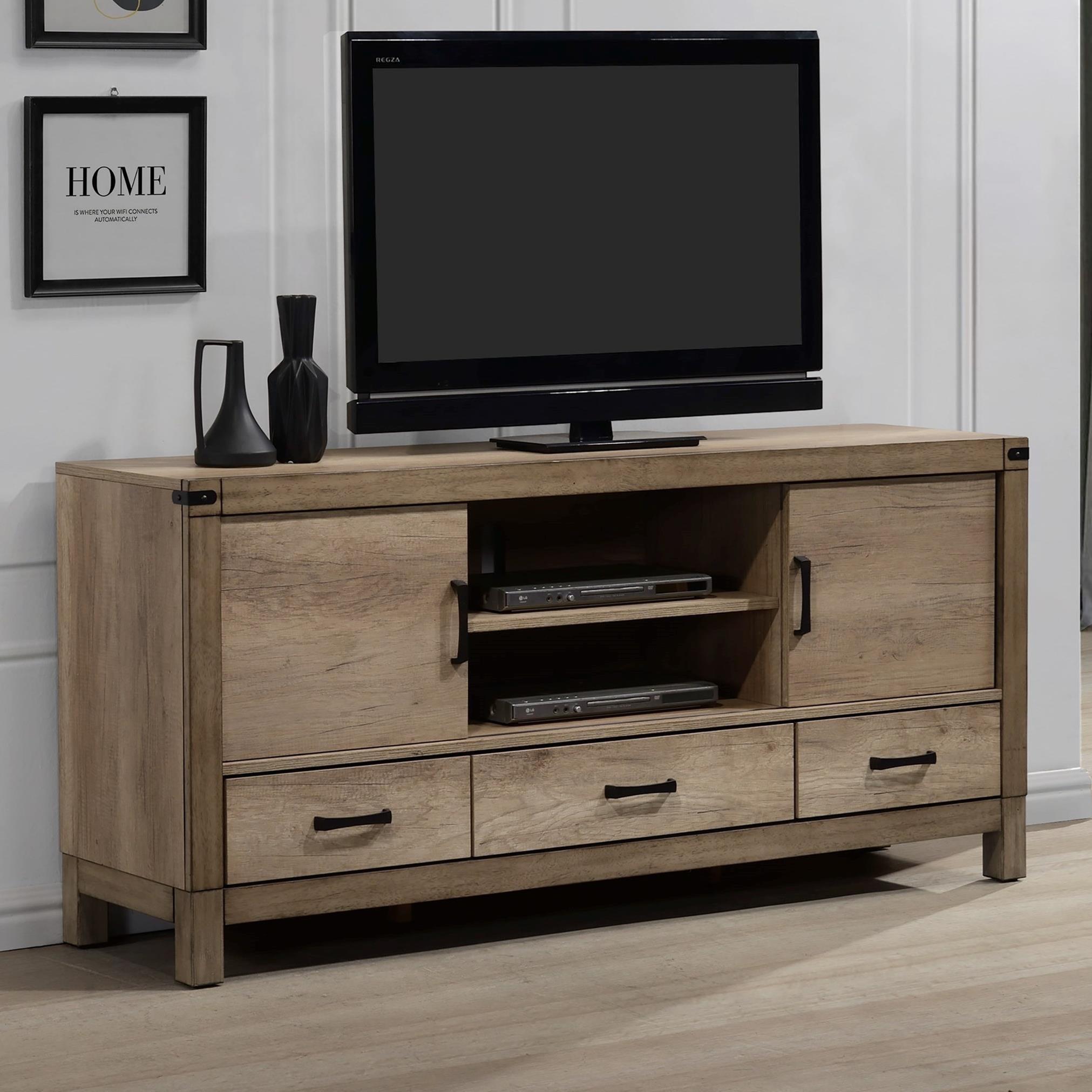 3-Drawer TV Stand