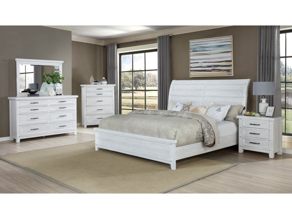 Crown Mark MaybelleCalifornia King Bedroom Group