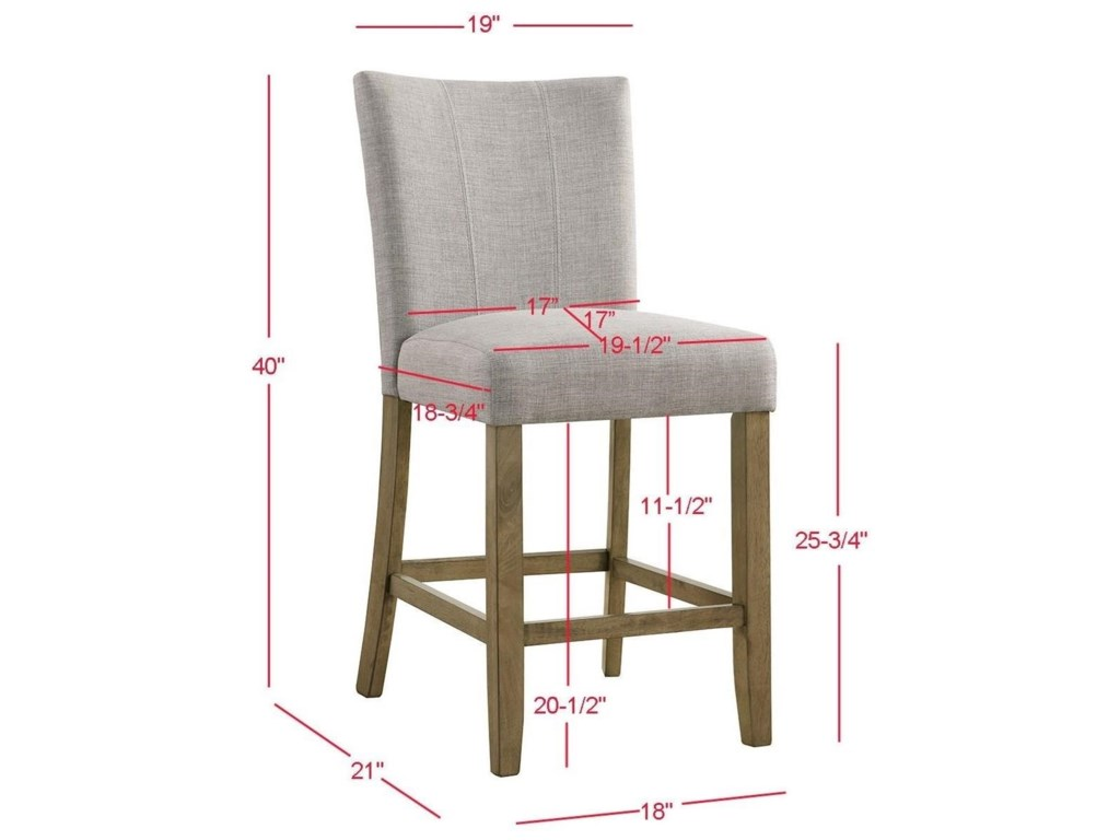 Crown Mark MikeCounter Height Chair
