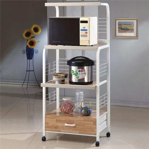 Crown Mark Miscellaneous Kitchen Shelf with Casters