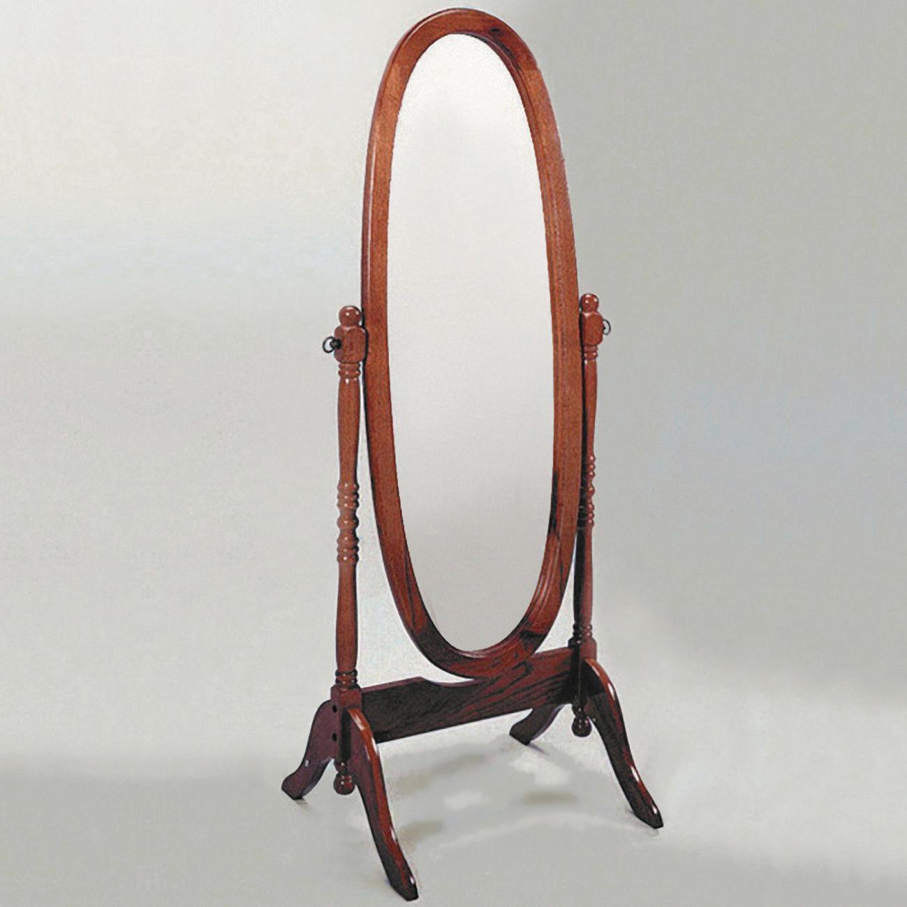 Cherry Cheval Floor Mirror