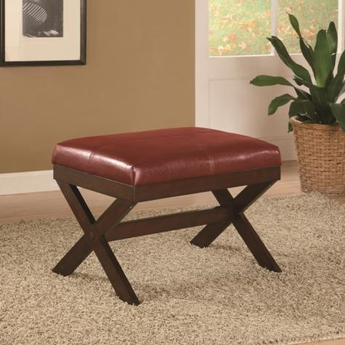 Crown Mark Miscellaneous Upholstered Seat Bench
