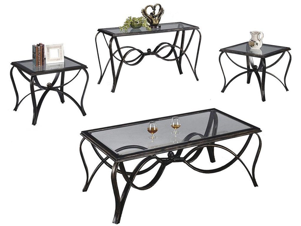 Crown Mark Monarch Sofa Table