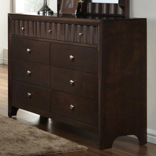Crown Mark Nadine Transitional Dresser