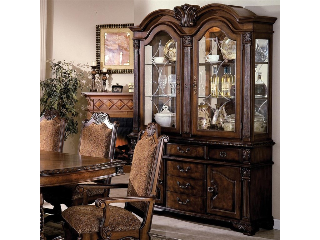 Crown Mark Neo RenaissanceBuffet and Hutch