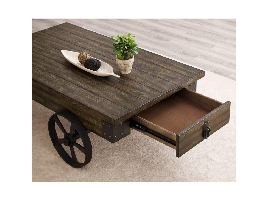 Collection # 1 OtisWagon Wheel Coffee Table