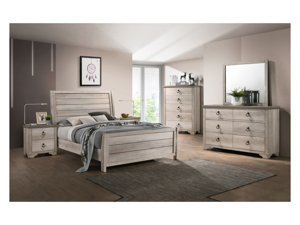 Crown Mark PattersonQueen Bedroom Group