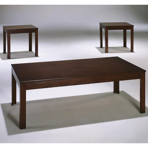 Crown Mark Pierce Pierce 3-Pack Cocktail Set with 2 End Tables