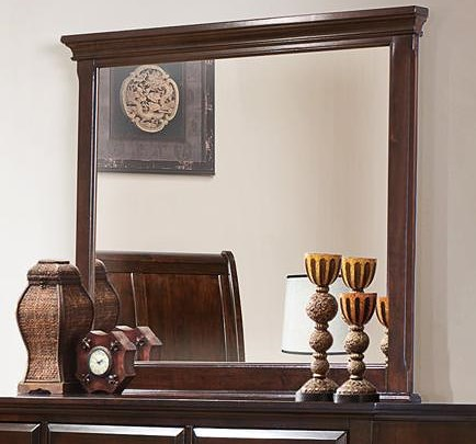 Crown Mark Portsmouth B6075 Landscape Dresser Mirror