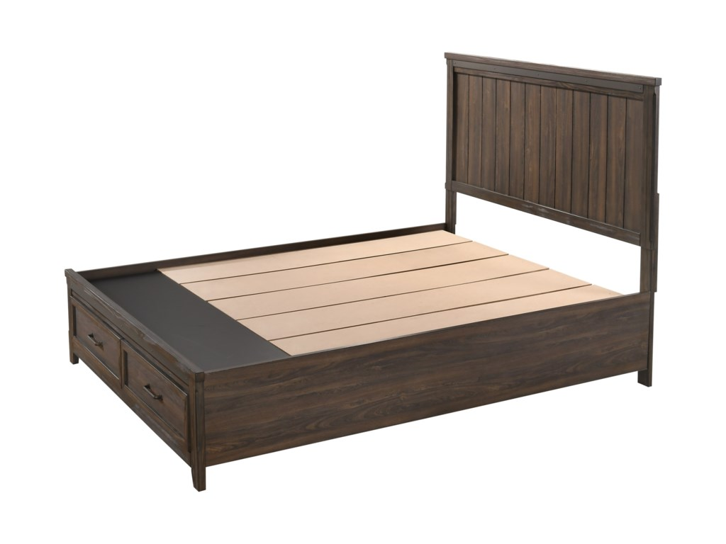 Crown Mark PresleyKing Low Profile Bed