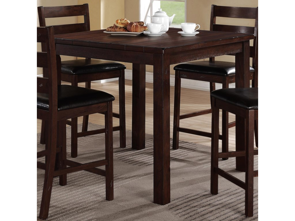Crown Mark QuinnCounter Height Table Set