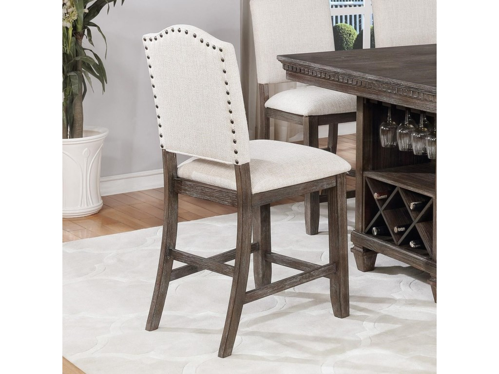 Crown Mark RegentCounter Height Stool