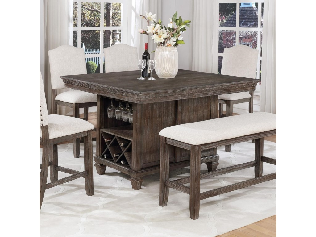 Regent Counter Height Table
