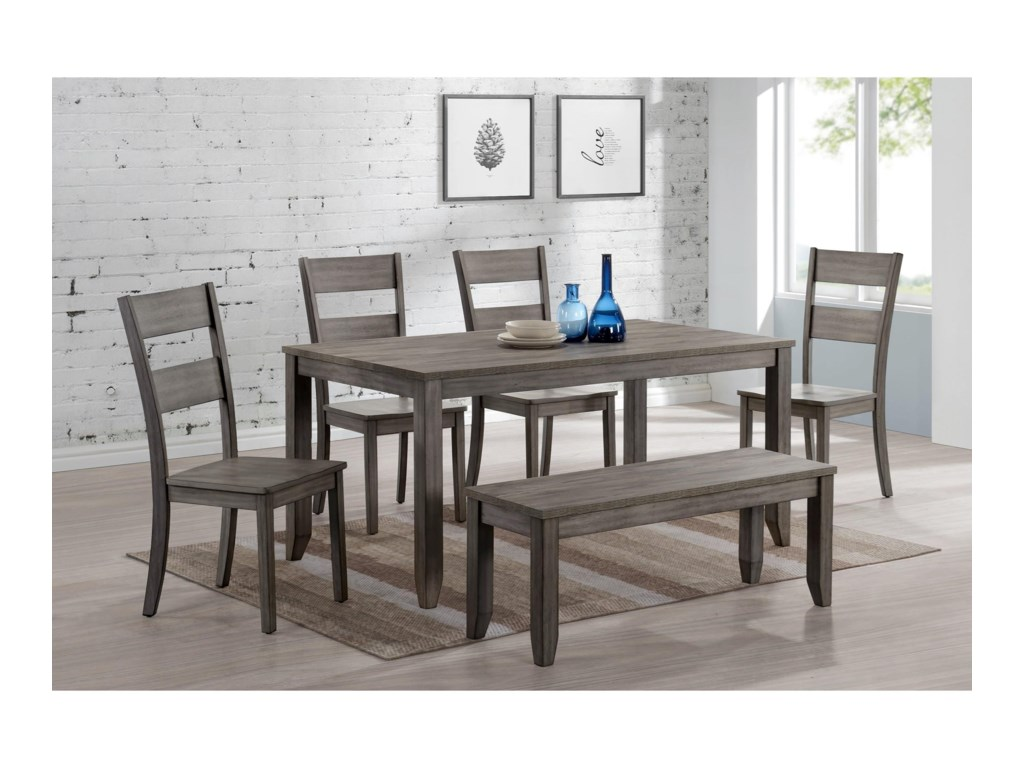 Crown Mark SeanMelamine Dining Table