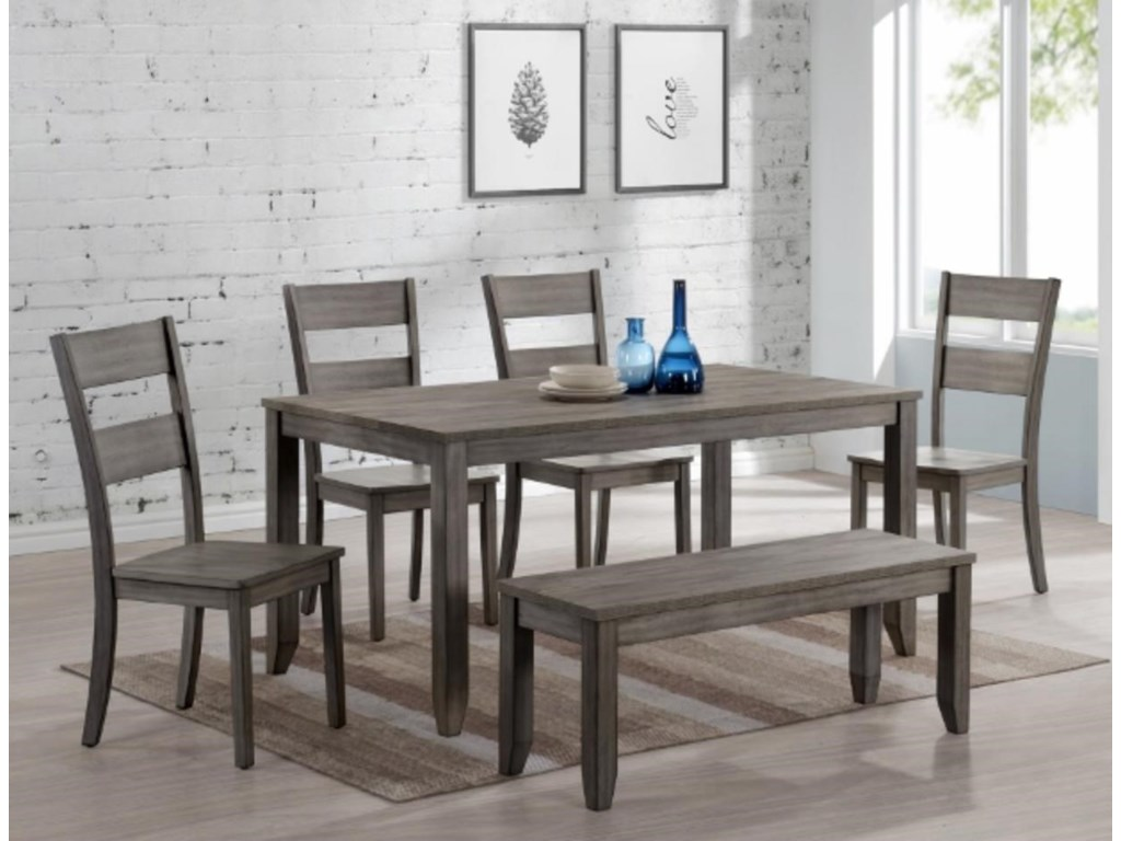 Crown Mark Shaw5-Piece Dining Set
