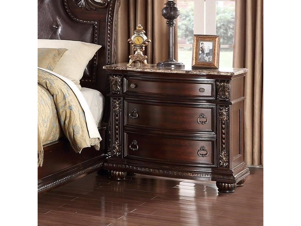 Crown Mark StanleyNightstand