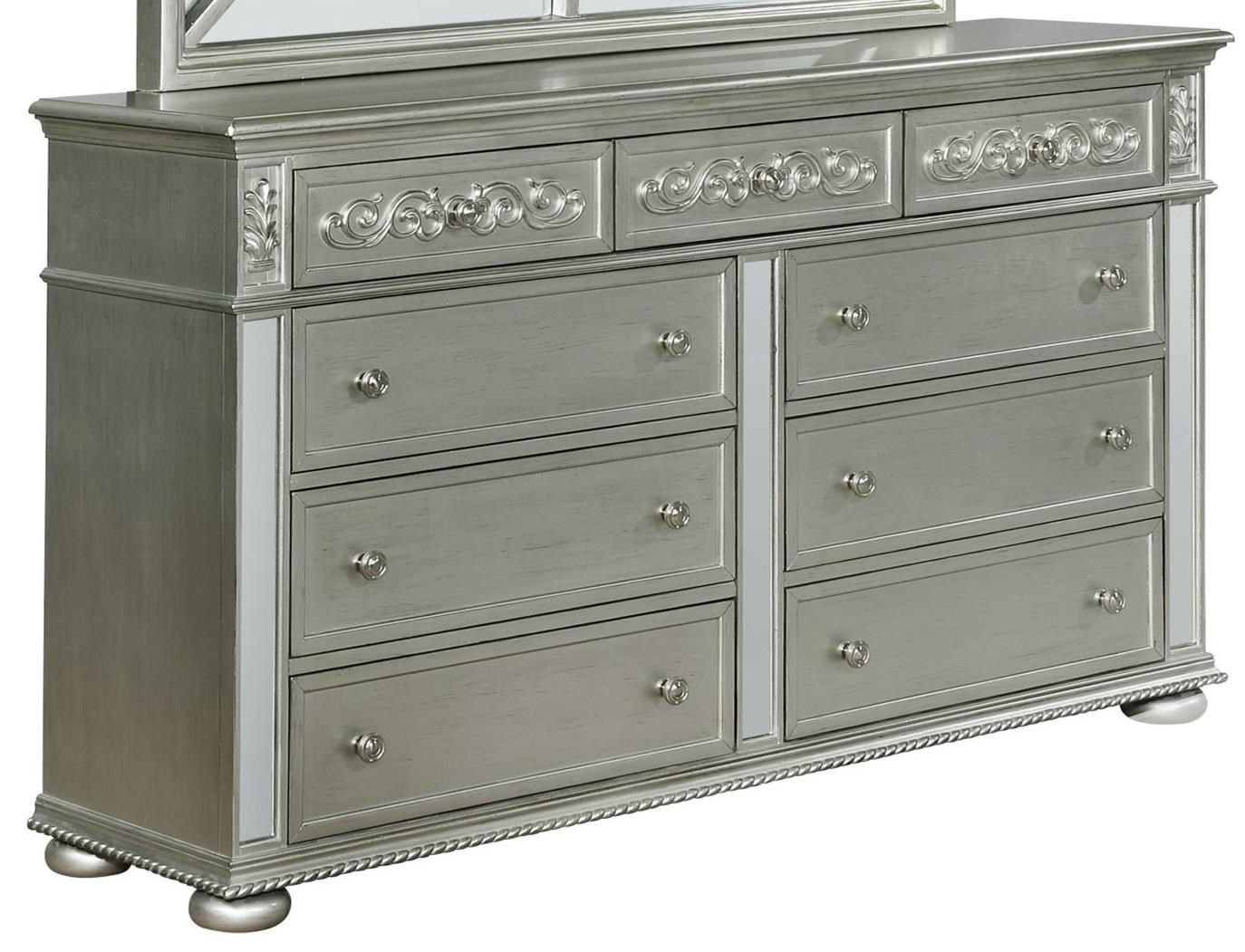 Glam 9 Drawer Dresser