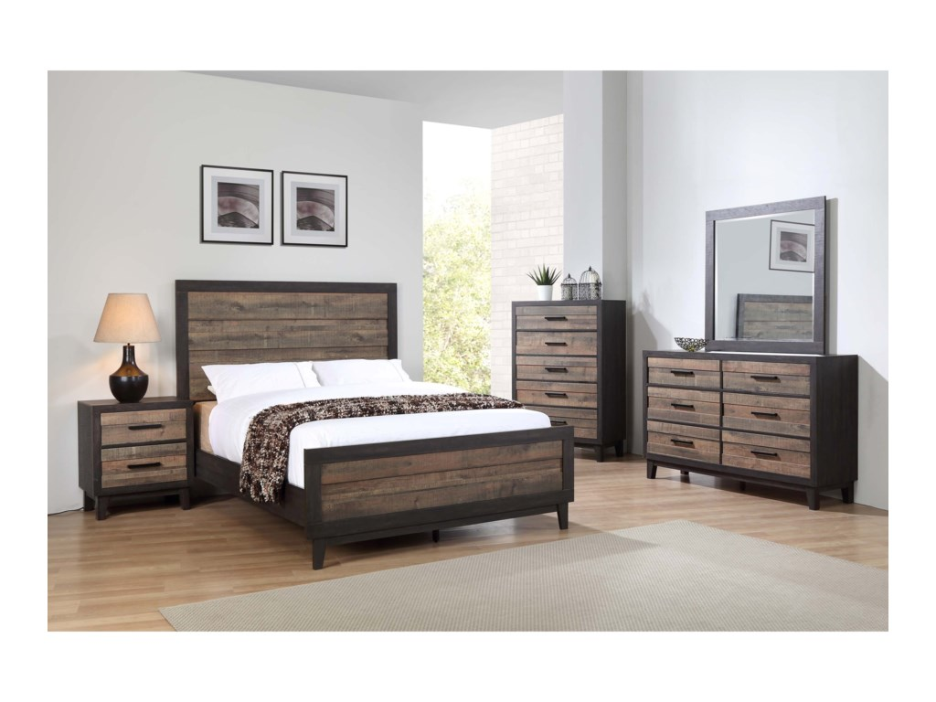 Crown Mark TacomaTwin Bedroom Group