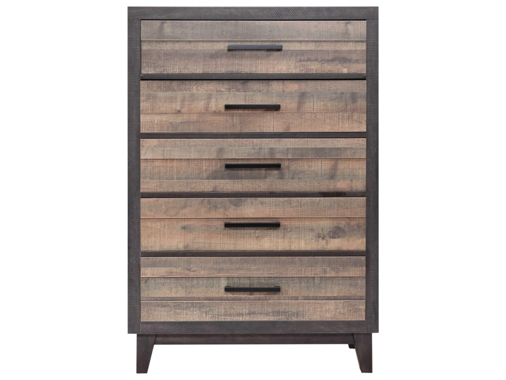 Crown mark tacoma 5 drawer chest