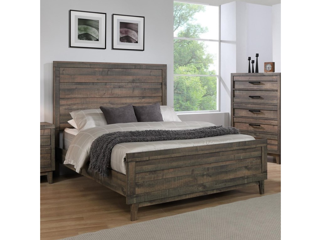 Crown Mark TacomaQueen Panel Bed
