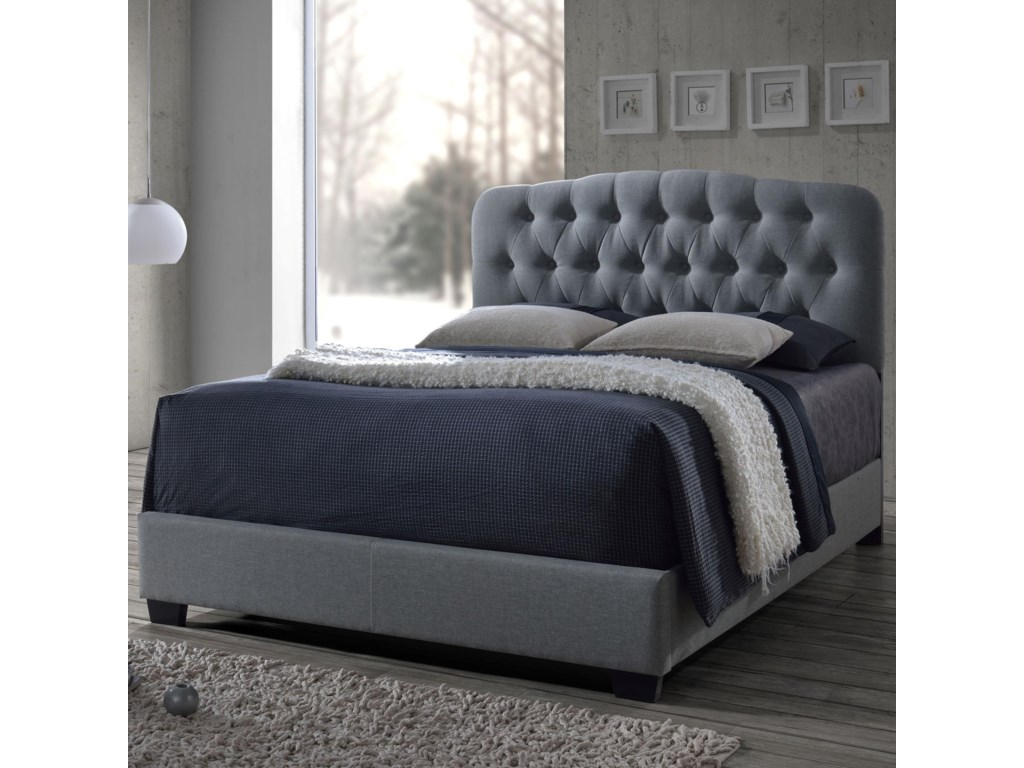 Crown Mark TildaQueen Upholstered Bed