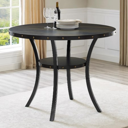 Counter Height Melamine Table