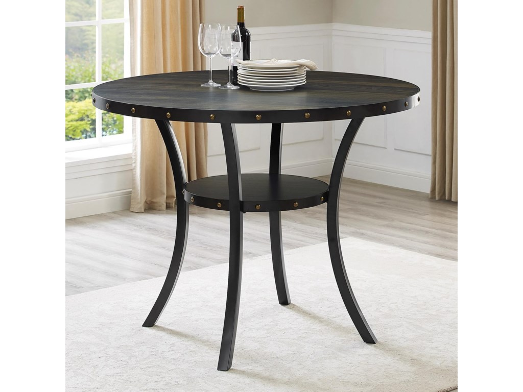 Crown Mark WallaceCounter Height Melamine Table